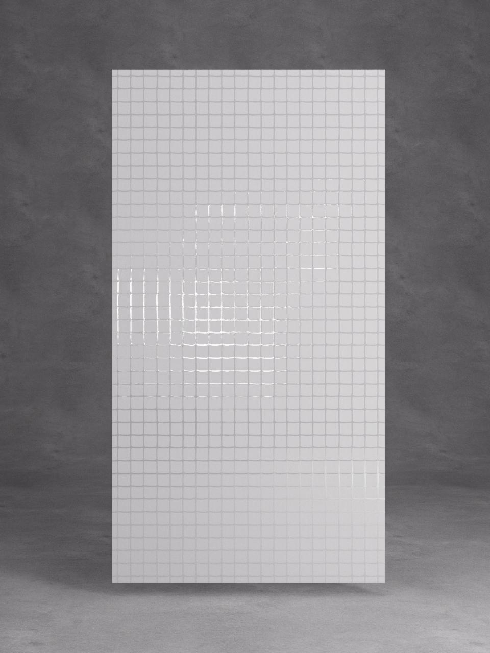 витраж лофт прозрачный на матовом