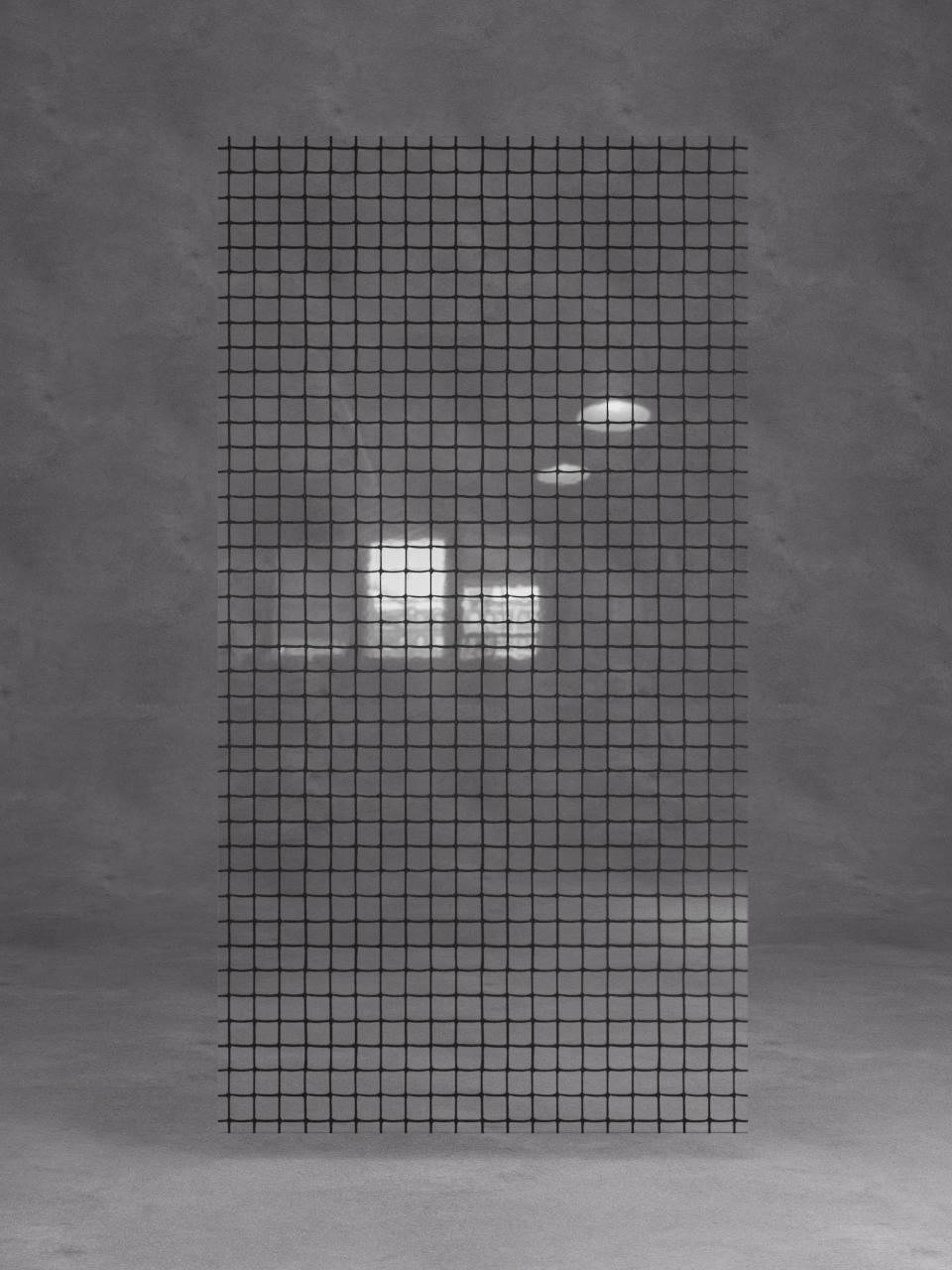 витраж лофт черный на прозрачном